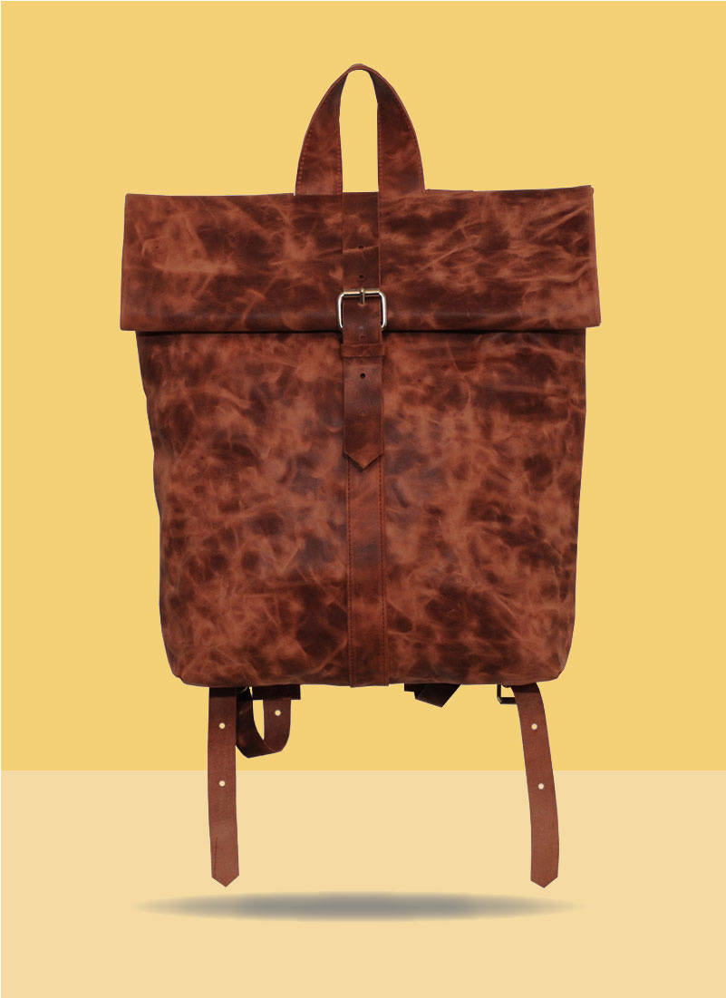 Rollitbag Terracotta Strap Big Mees