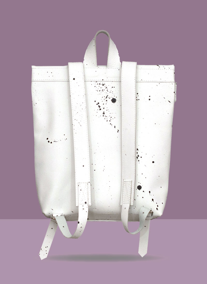 Rollitbag White Spat Back