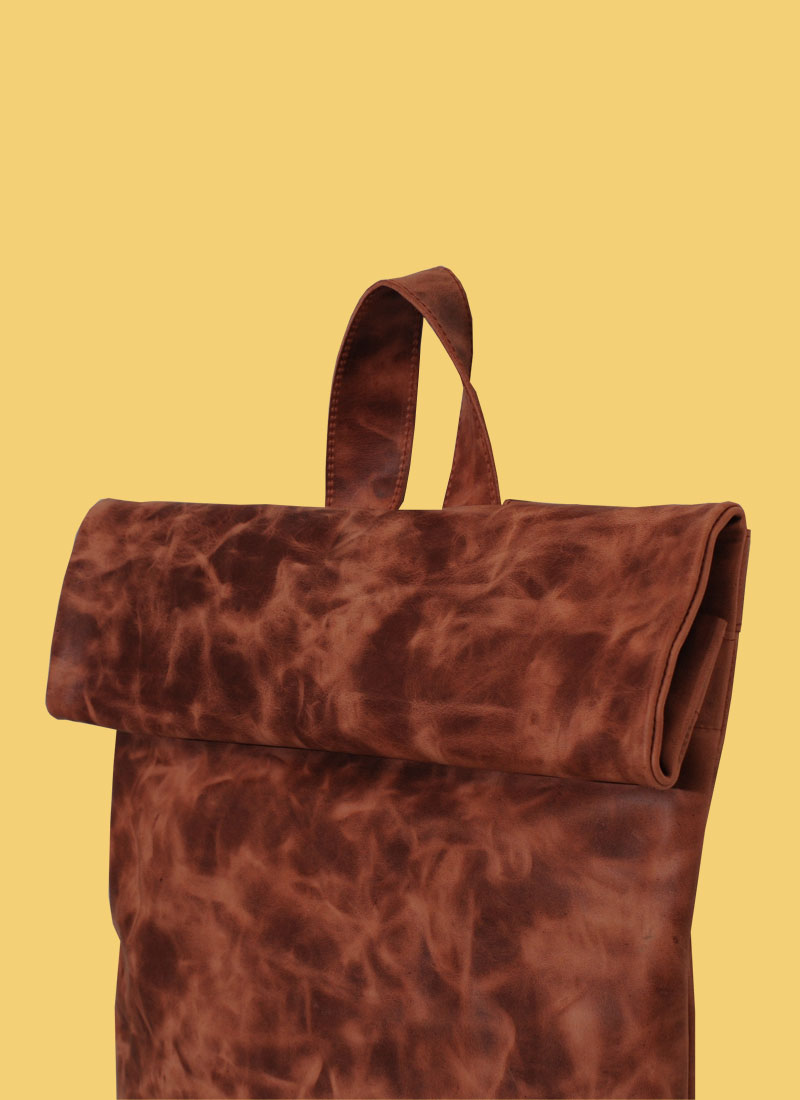 Rollitbag Terracotta Big Side