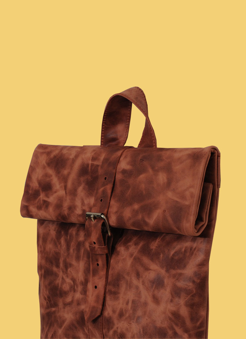 Rollitbag Terracotta Strap Small Mees