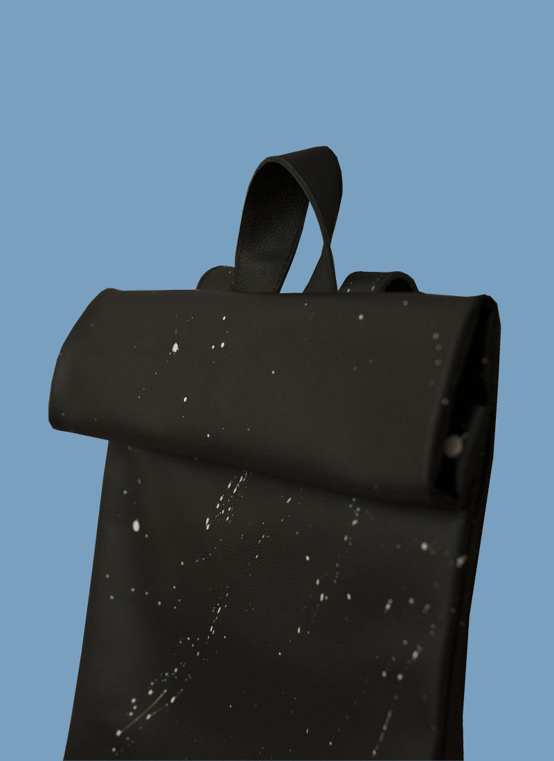 Rollitbag Black Spat Magnet Side
