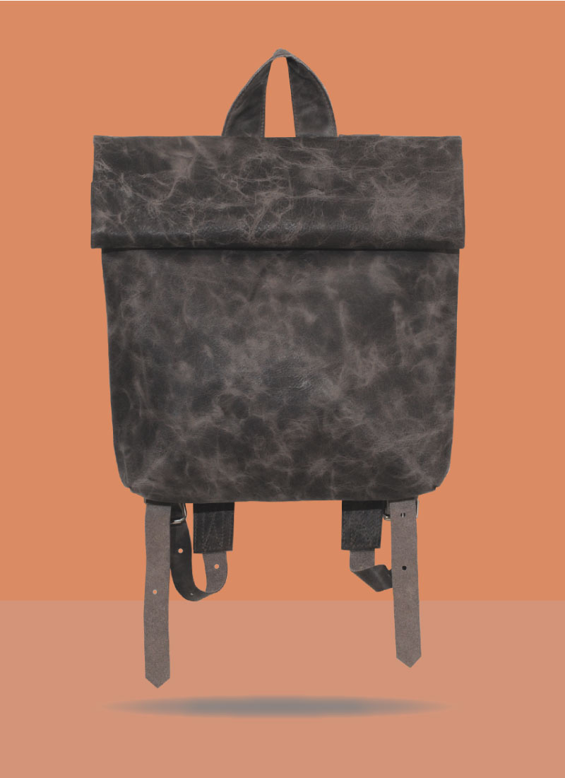 Rollitbag Magnet Grey Small Front
