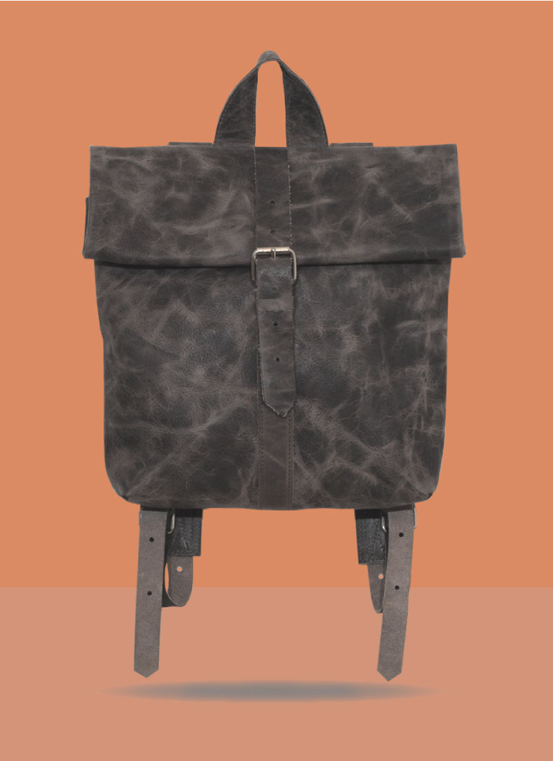 Rollitbag Strap Grey Small Front