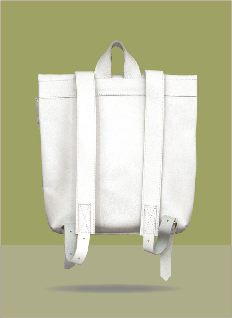 Rollitbag White Small Back