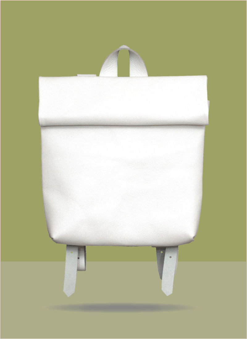 Rollitbag White Small Front