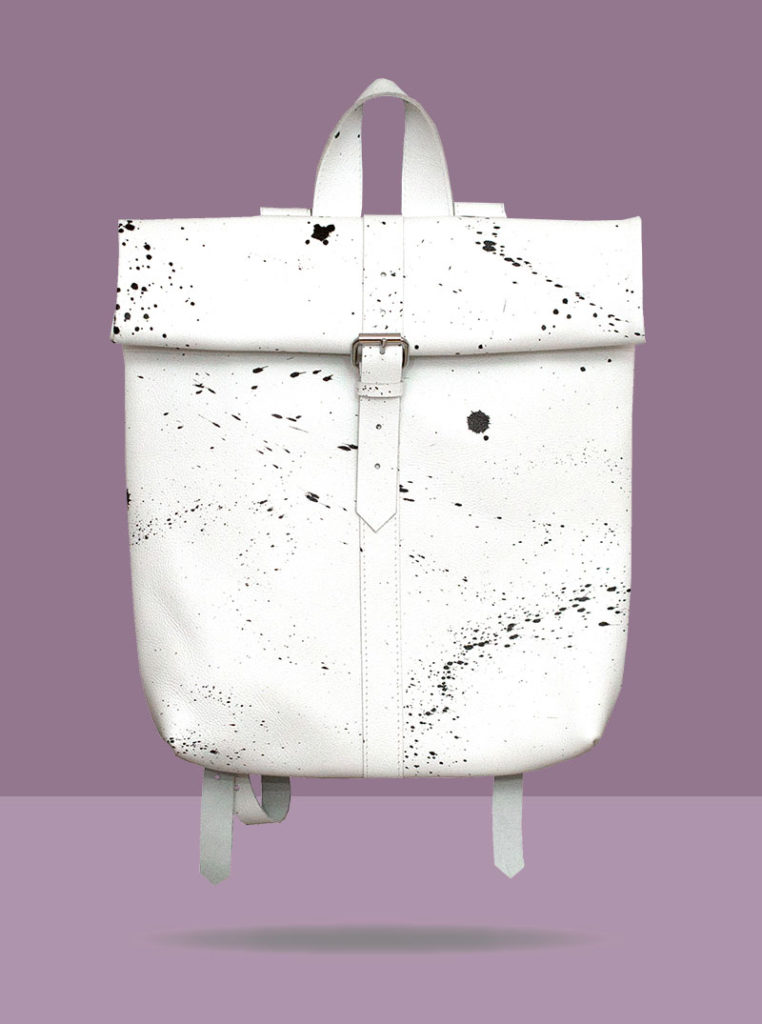 Mees Rollitbag White Front