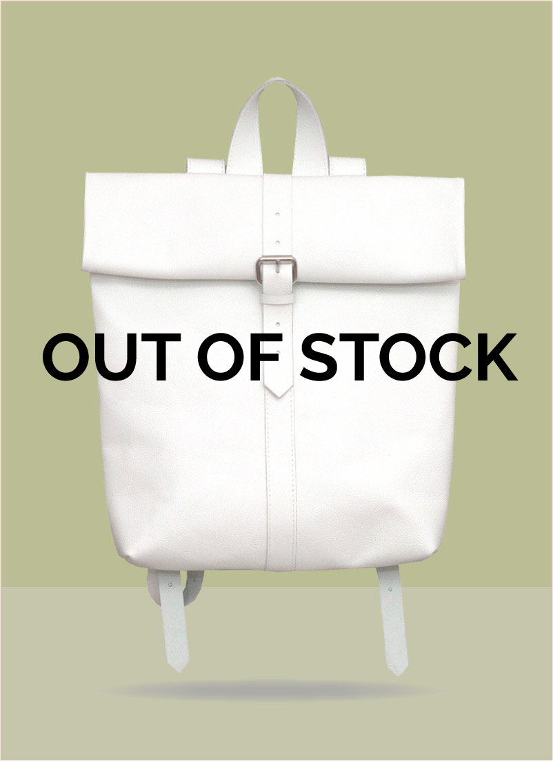 Rollitbag White Small Strap Mees OOS