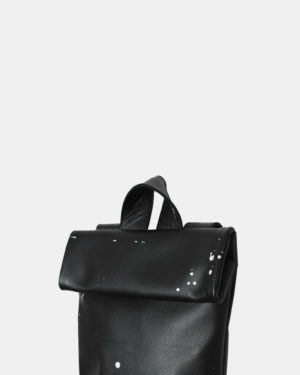 Meesdesign-Rollitbag-mini-Black-Spattered-side